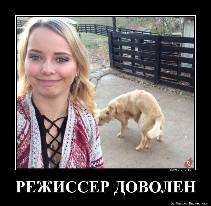 РЕЖИССЕР ДОВОЛЕН