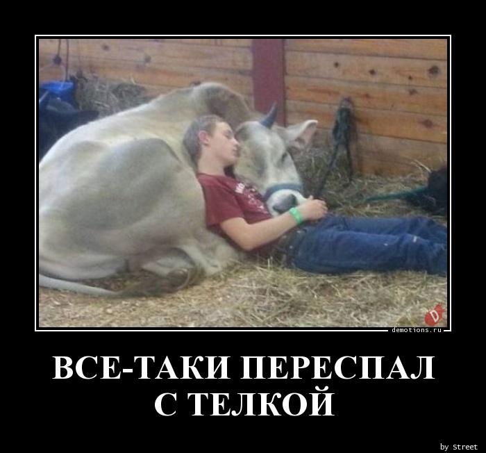 ВСЕ-ТАКИ ПЕРЕСПАЛ С ТЕЛКОЙ