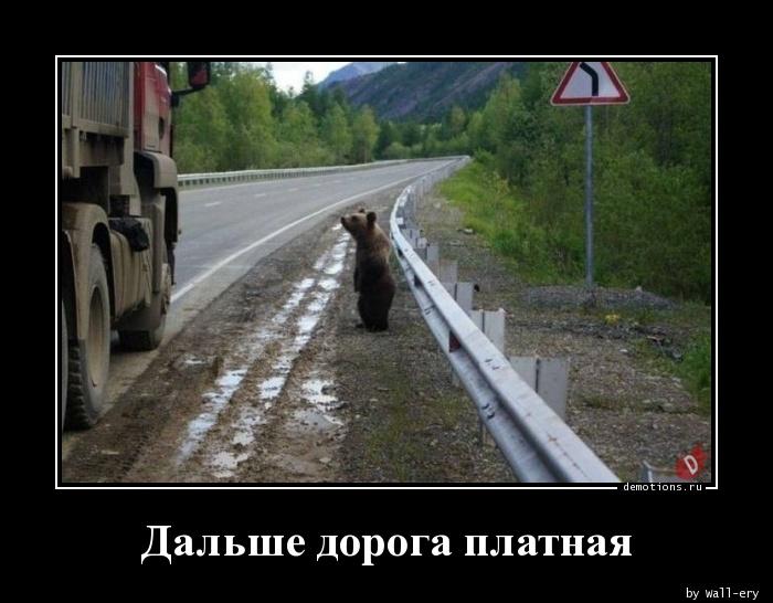 Дальше дорога платная