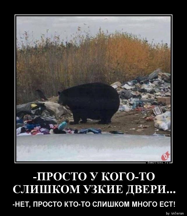 -ПРОСТО У КОГО-ТО  СЛИШКОМ УЗКИЕ ДВЕРИ...