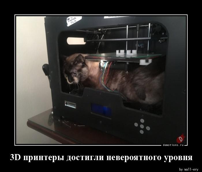 3D принтеры достигли невероятного уровня
