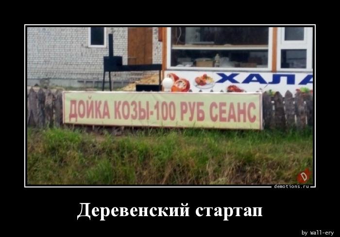 Деревенский стартап