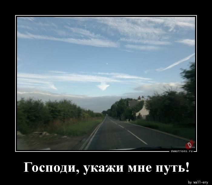 Господи, укажи мне путь!