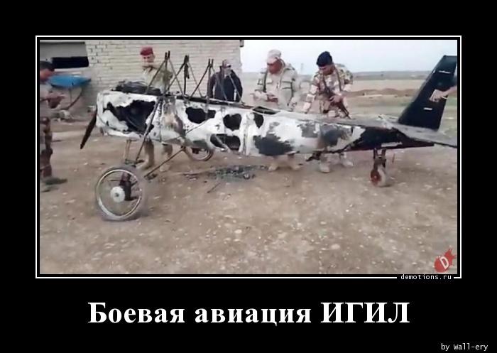 Боевая авиация ИГИЛ