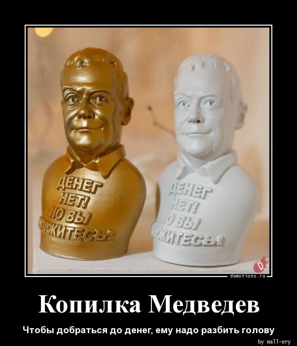 Копилка Медведев