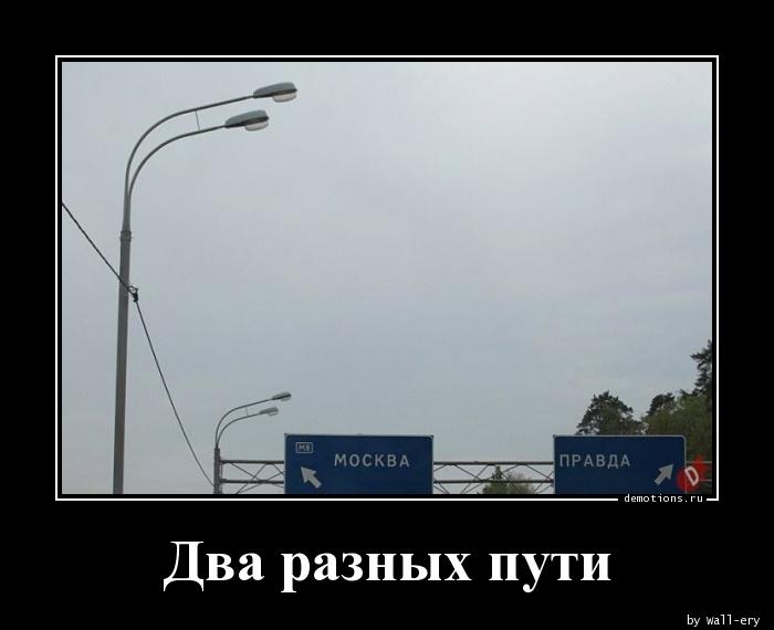 Два разных пути