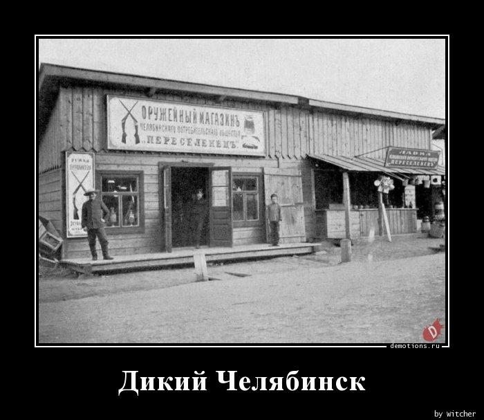 Дикий Челябинск