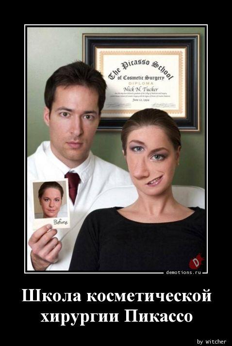 Школа косметической  хирургии Пикассо