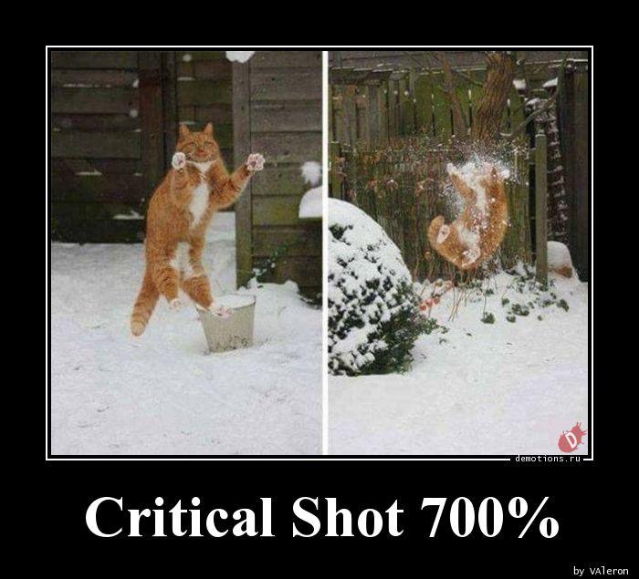 Critical Shot 700%