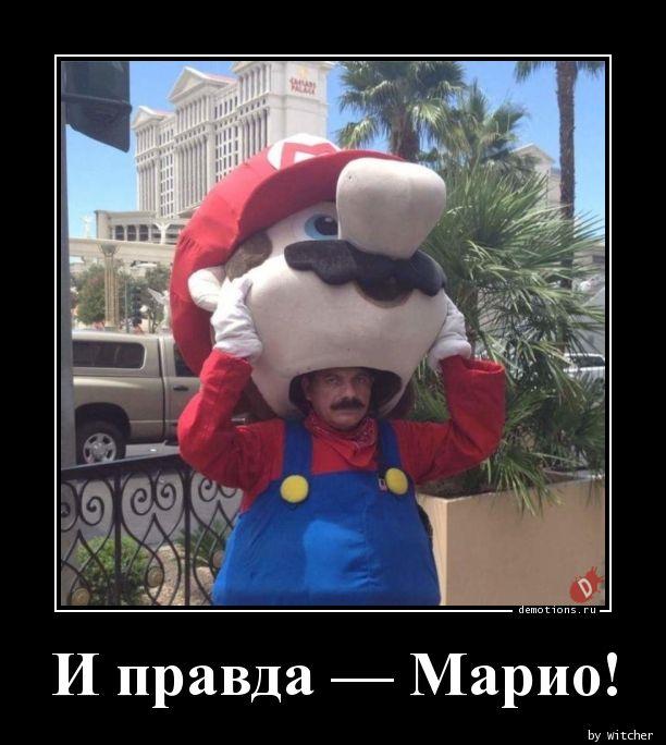И правда — Марио!