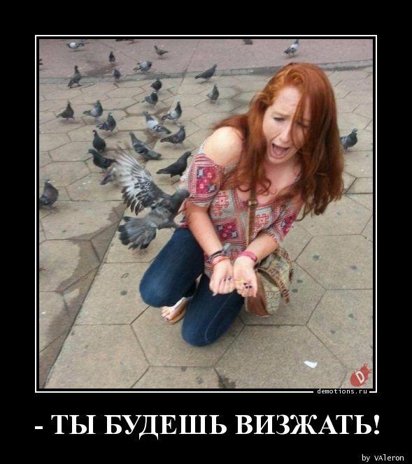 - ТЫ БУДЕШЬ ВИЗЖАТЬ!