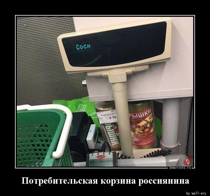 Потребительская корзина россиянина