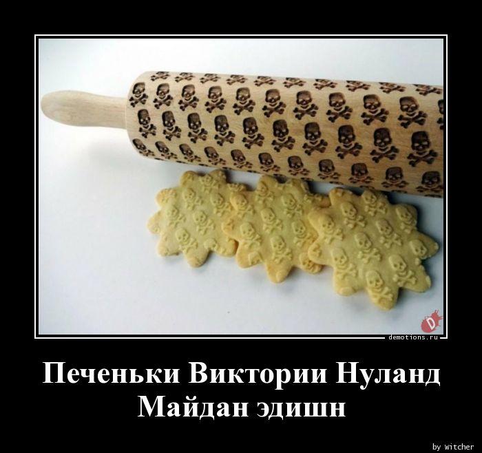 Печеньки Виктории НуландМайдан эдишн