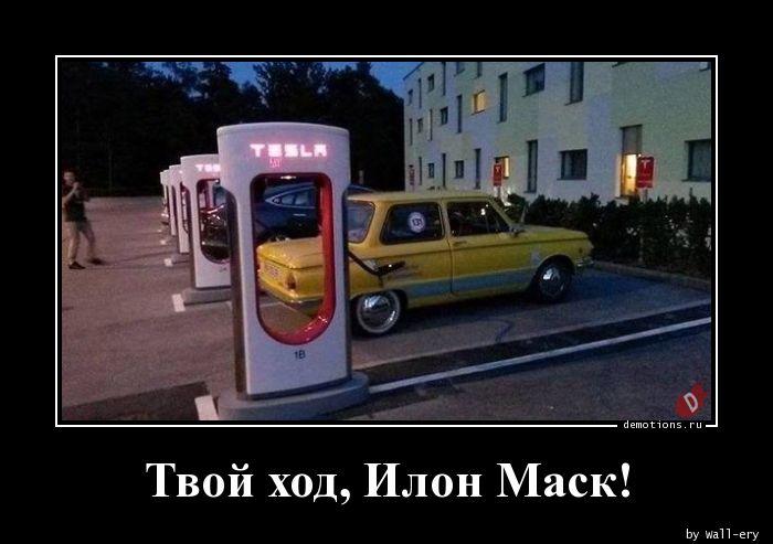 Твой ход, Илон Маск!