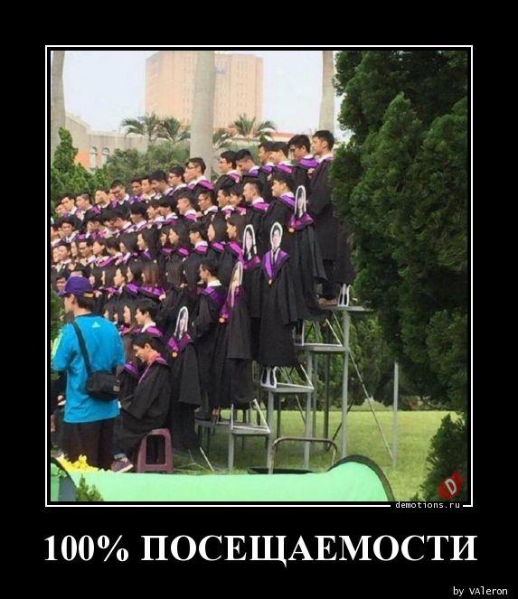 100% ПОСЕЩАЕМОСТИ