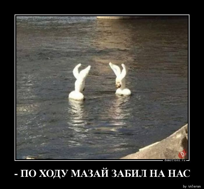 - ПО ХОДУ МАЗАЙ ЗАБИЛ НА НАС