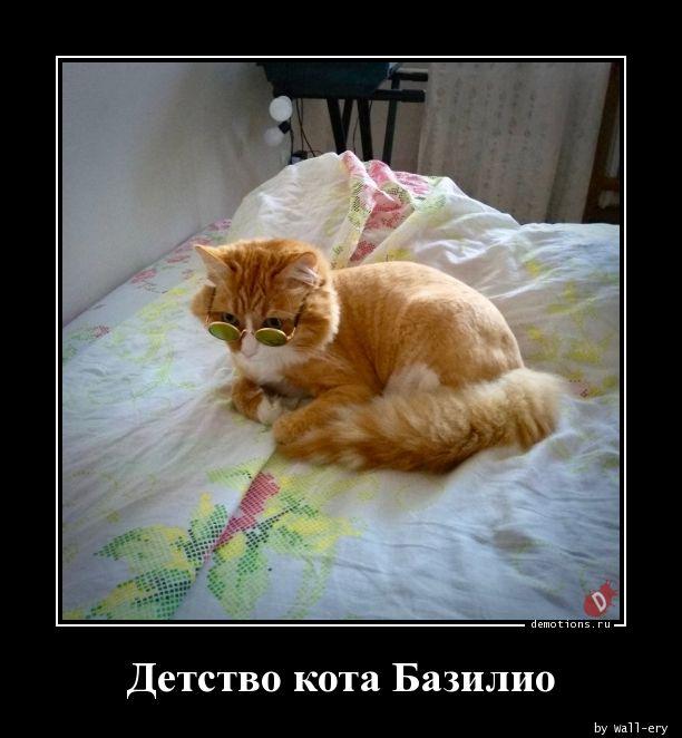 Детство кота Базилио