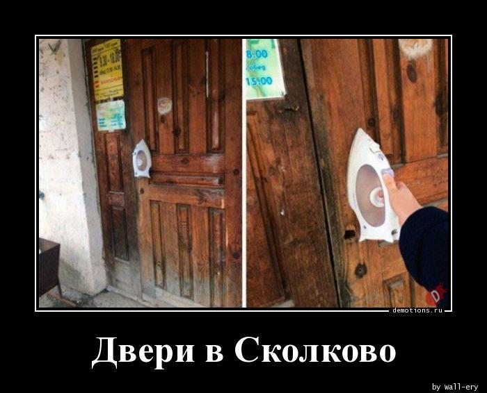 Двери в Сколково