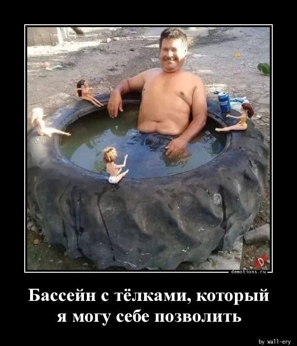 Бассейн с тёлками, который я могу себе позволить