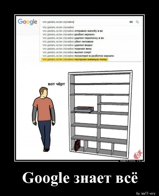 Google знает всё