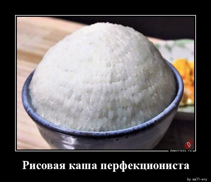 Рисовая каша перфекциониста