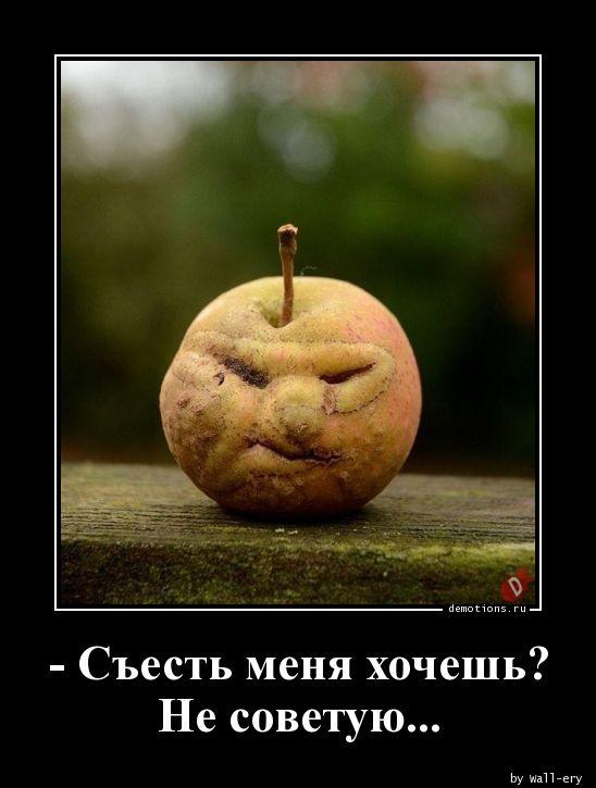 - Съесть меня хочешь? Не советую...