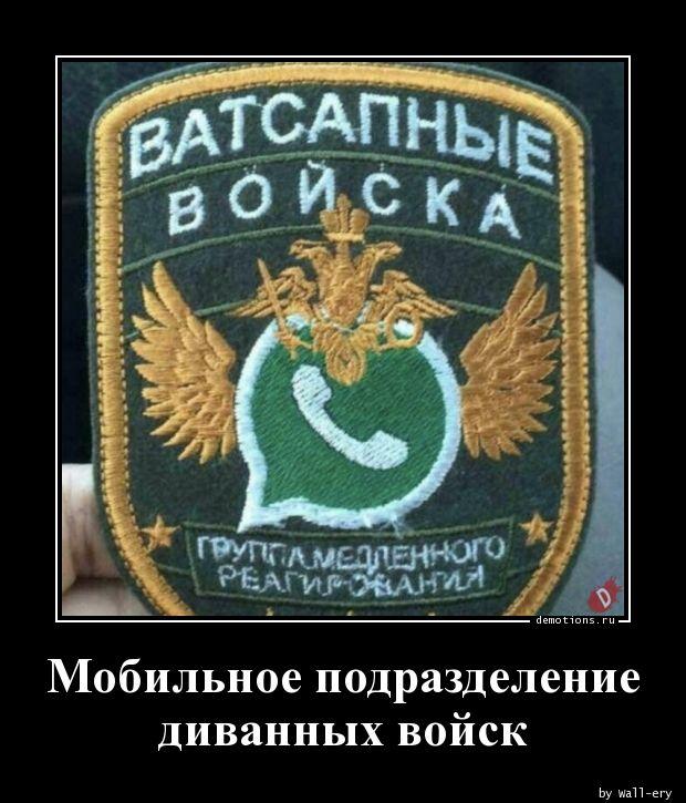 Мобильное подразделение диванных войск