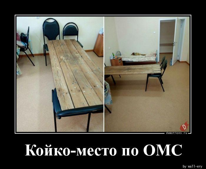Койко-место по ОМС