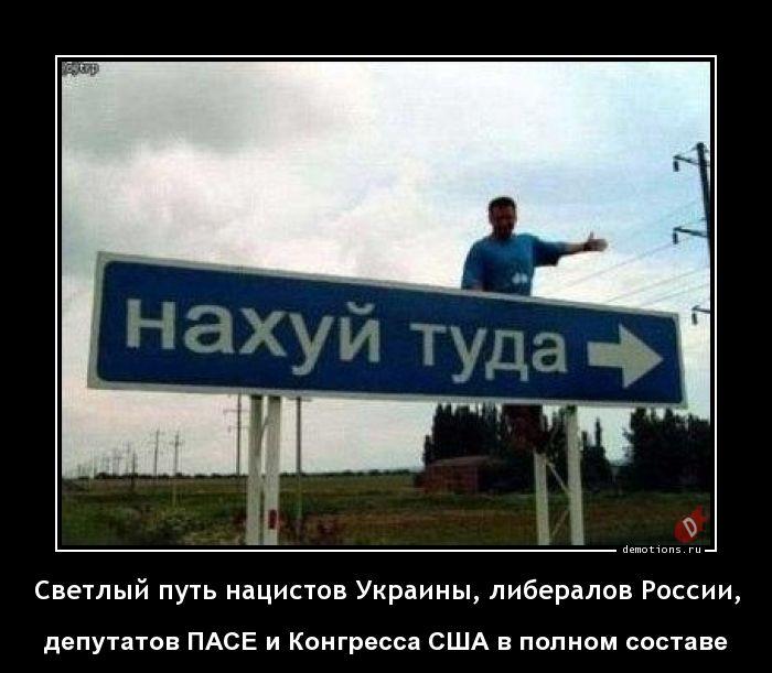 Светлый путь нацистов Украины, либералов России,