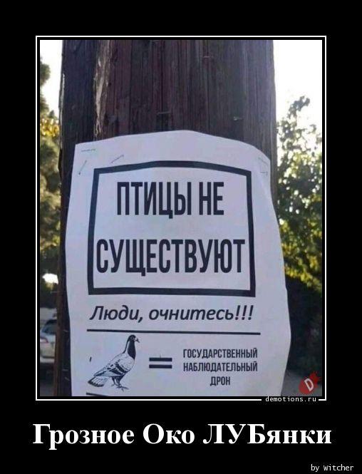 Грозное Око ЛУБянки