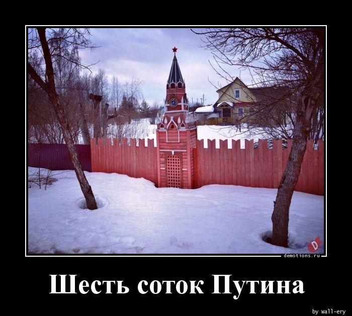 Шесть соток Путина