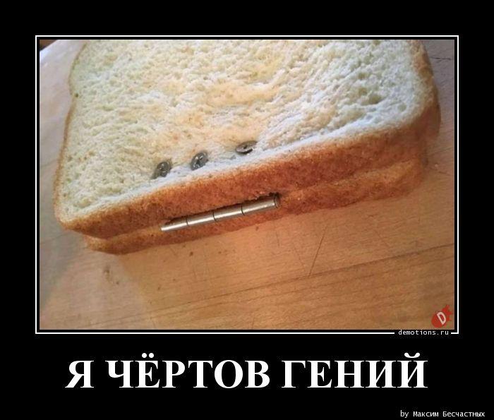 Я ЧЁРТОВ ГЕНИЙ