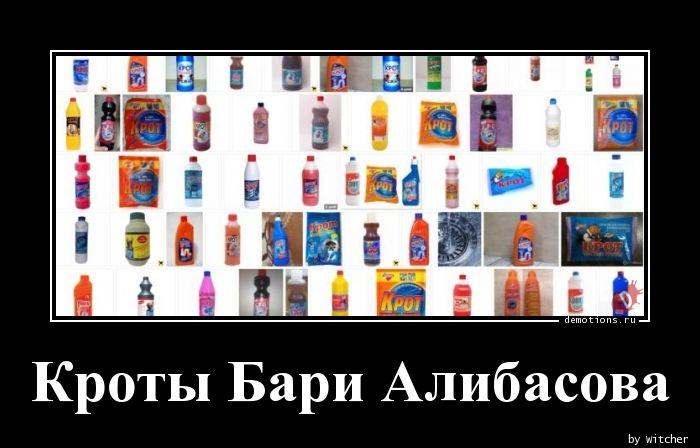 Кроты Бари Алибасова