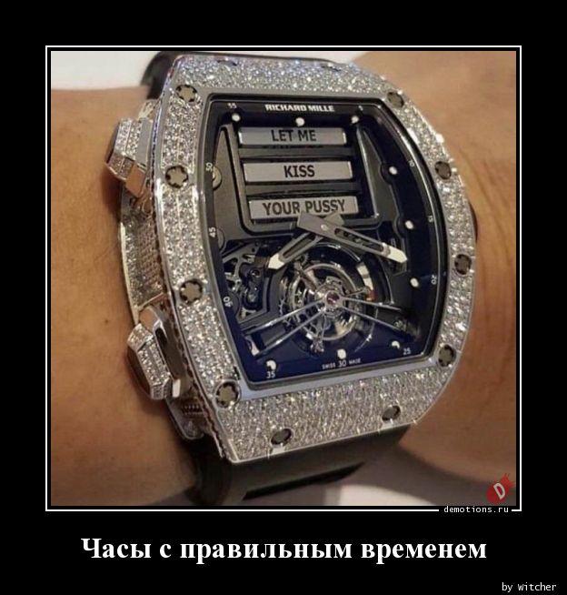 Часы с правильным временем
