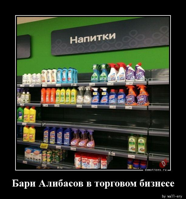 Бари Алибасов в торговом бизнесе