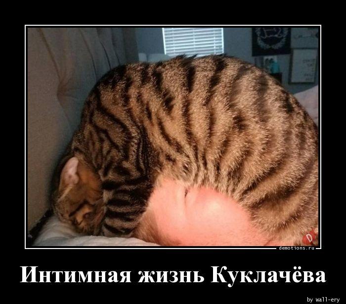 Интимная жизнь Куклачёва