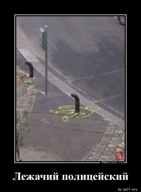Лежачий полицейский