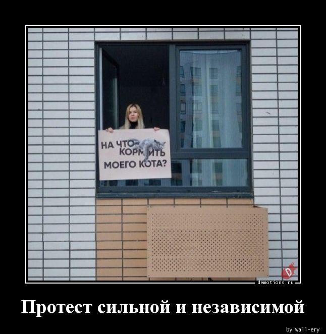 Протест сильной и независимой