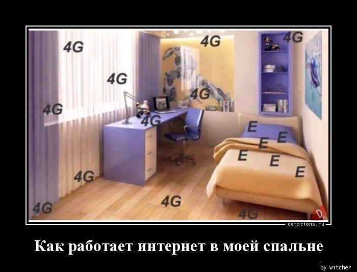 Как работает интернет в моей спальне