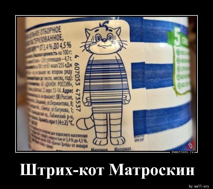 Штрих-кот Матроскин
