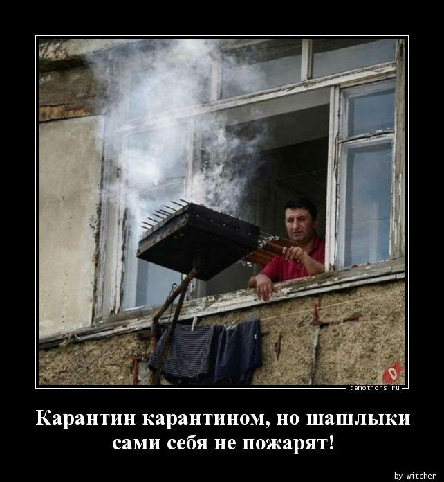 Карантин карантином, но шашлыки сами себя не пожарят!