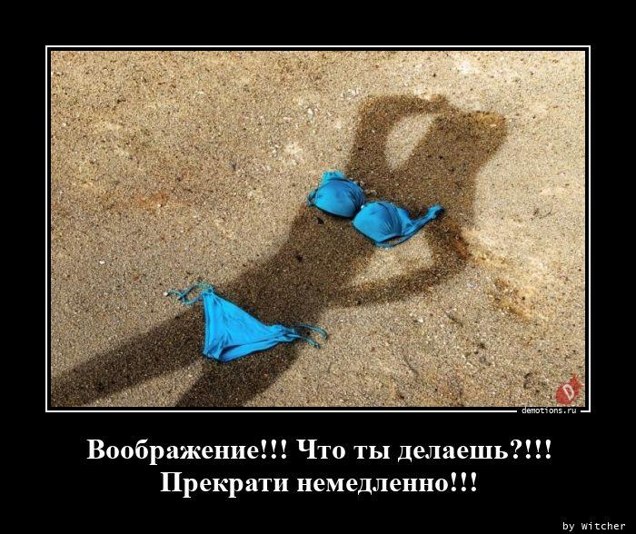 Воображение!!! Что ты делаешь?!!! Прекрати немедленно!!!