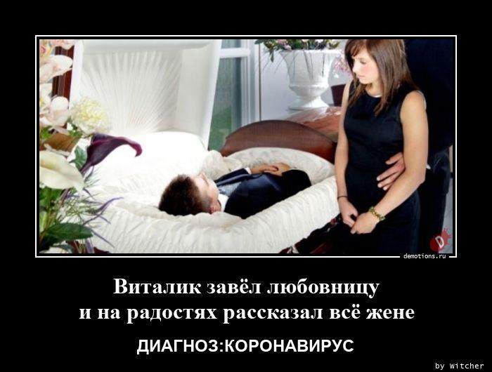 Виталик завёл любовницу и на радостях рассказал всё жене