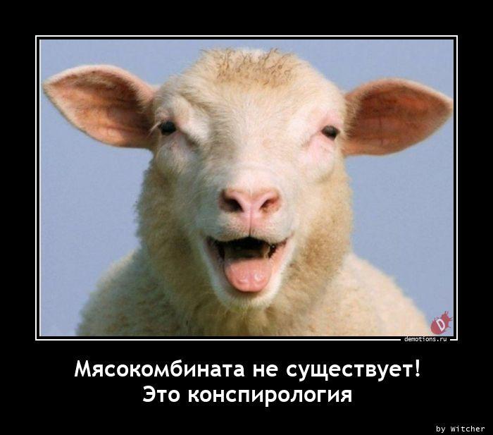 Мясокомбината не существует!nЭто конспирология