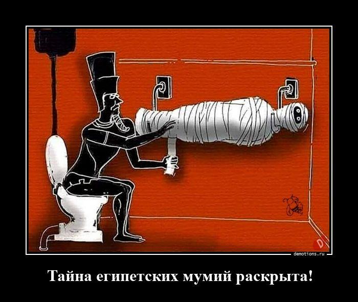 Тайна египетских мумий раскрыта!