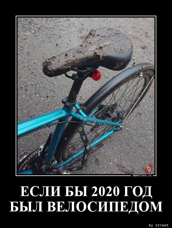 ЕСЛИ БЫ 2020 ГОД  БЫЛ ВЕЛОСИПЕДОМ