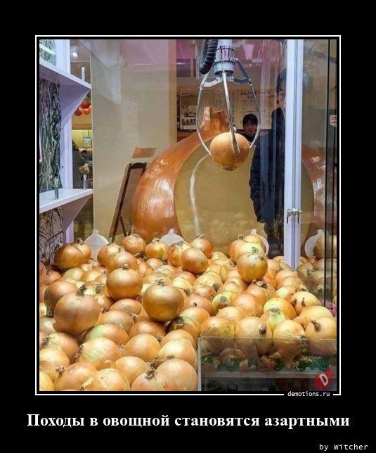 Походы в овощной становятся азартными