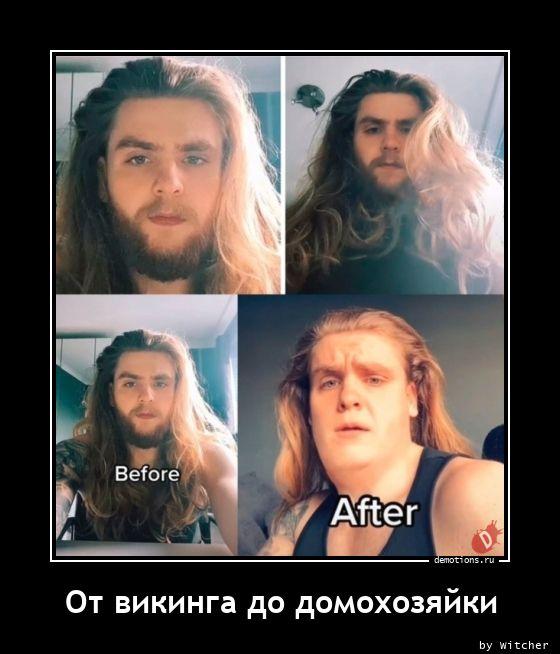 От викинга до домохозяйки