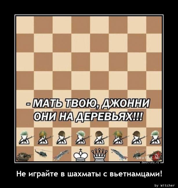 Не играйте в шахматы с вьетнамцами!
