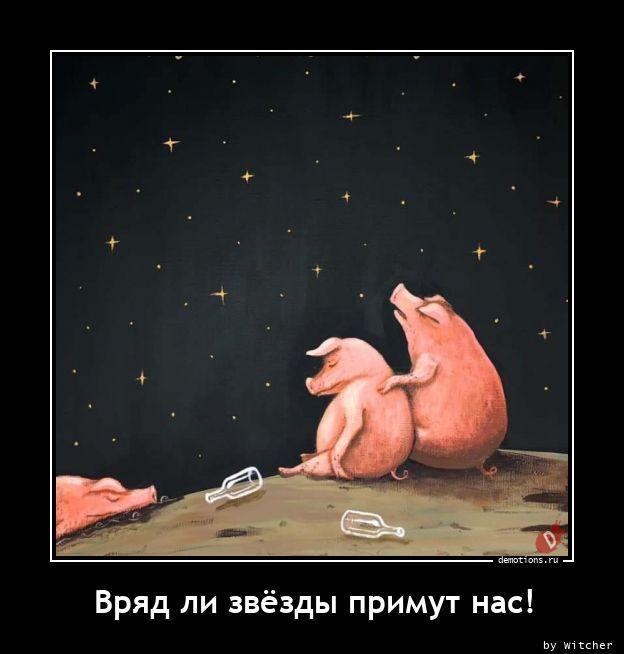 Вряд ли звёзды примут нас!